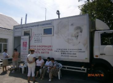 Жінки Уманського району мають можливість пройти безкоштовну діагностику раку молочної залози