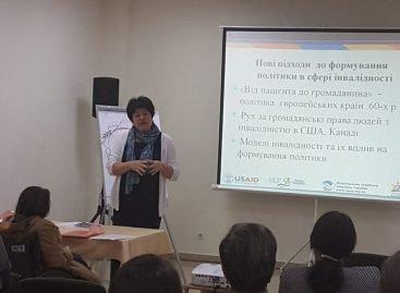 Сьогодні у м. Дніпро розпочався тренінг «Сучасні тенденції у сфері працевлаштування та зайнятості осіб з інвалідністю»