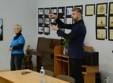 У Дніпрі провели майстер-клас із жестової мови