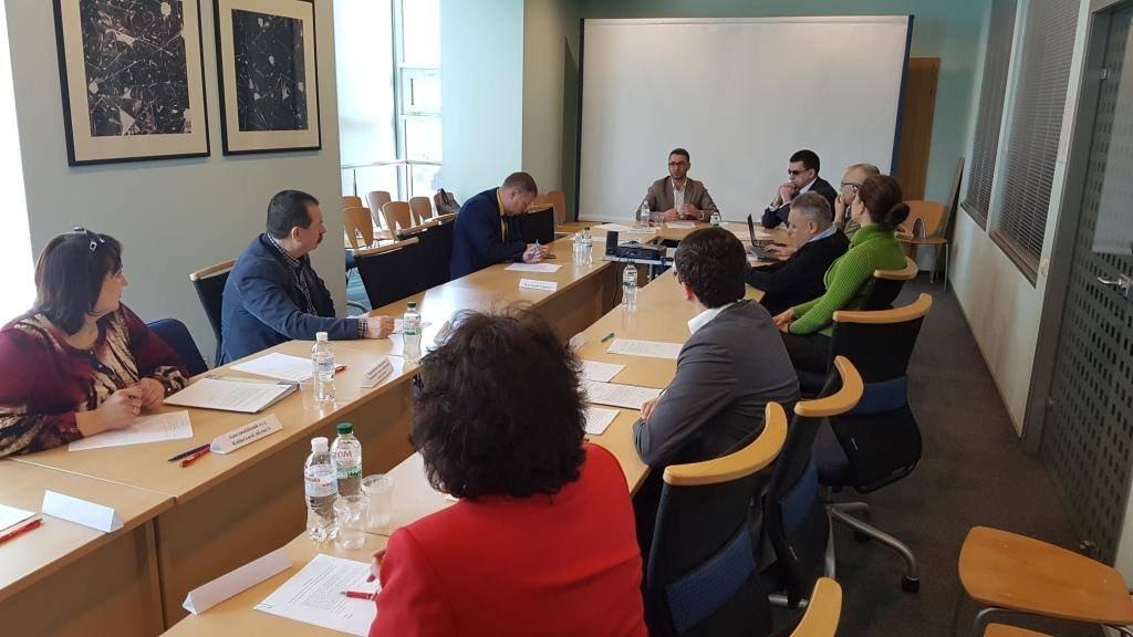 Зустріч Робочої групи із забезпечення доступності суду та судової процедури для осіб з інвалідністю та інших маломобільних груп населення в місті Києві