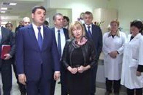 Володимир Гройсман відвідав Харківський Інститут протезування
