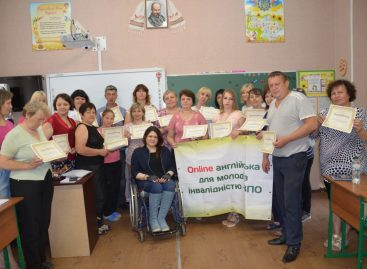 """Online English education for children and youth with disabilities"""