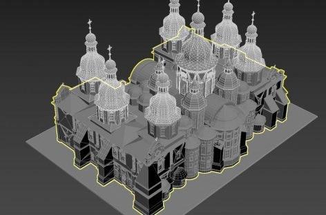 Для громадян з порушенням зору встановлять 3D-моделі зменшених історичних пам'яток